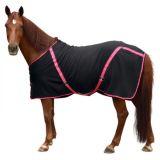 Fleece rugbe classic zwart/roze - 185cm