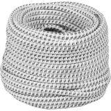 Elektrisch elastiek 7mm dik - 25m lang