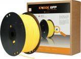 Knock off vliegensnoer vervangingsrol geel - 400m