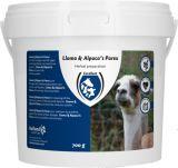 Lama en alpaca's parex - 700gr