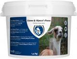 Lama en alpaca's parex - 1400gr