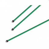 Spanstaven groen geplastificeerd 6mm - 200cm hoog