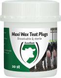 Maxi wax teat plugs - 20 stuks