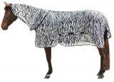 Vliegendeken zebra incl. nekdeel - 205cm